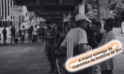 A maior entrega de marmitex da história de Belo Horizonte